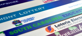 lottery logo bars